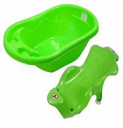Baby Bath Tub and Bath Sling - Green in bangalore