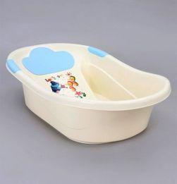 Baby Bath Tub - Blue White in bangalore