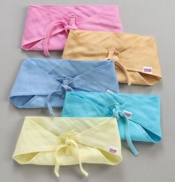 Muslin Cotton Reusable Cloth Nappies Small Set of 5 - Multicolor in bangalore