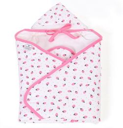 Tinycare Hooded Towel Cherry Print in bangalore