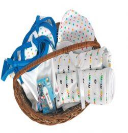Newborn Baby Blue Gift hamper in bangalore