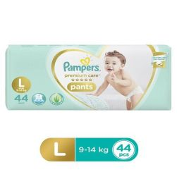 Pampers Premium Care Pant Style Diapers Large - 44 Pieces in bangalore