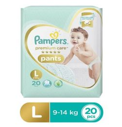 Pampers Premium Care Pant Style Diapers Large - 20 Pieces in bangalore