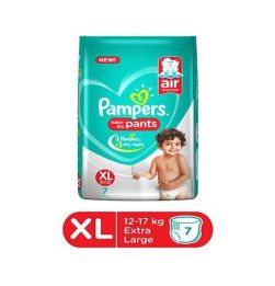 Pampers Pant Style Diapers Extra Large Size - 7 Pieces in bangalore