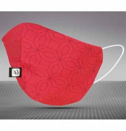 Reusable Face Mask Large Size -Red in bangalore