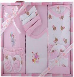 MiniBerry Gift Set-13 Pcs NEW BORN  (Pink) in bangalore