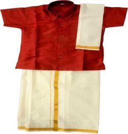 Boys Traditional Dhoti & Shirt SET in bangalore
