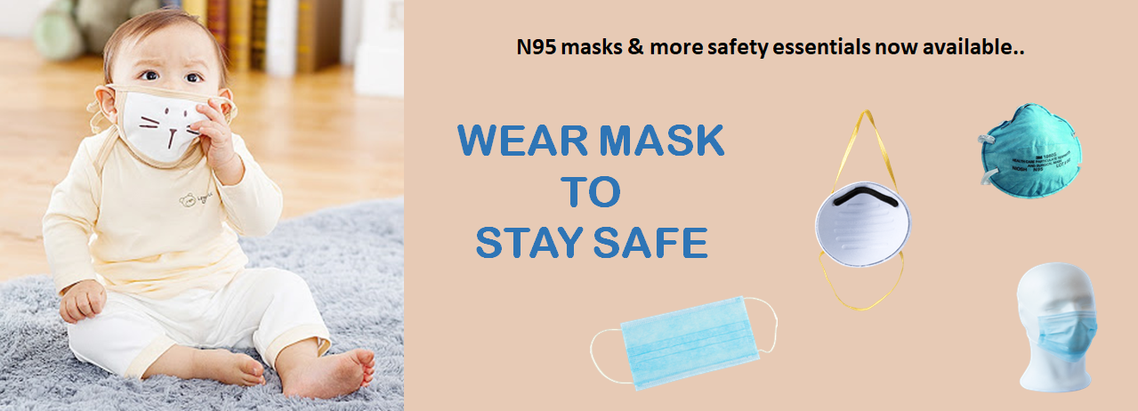 Shop now for safety masks